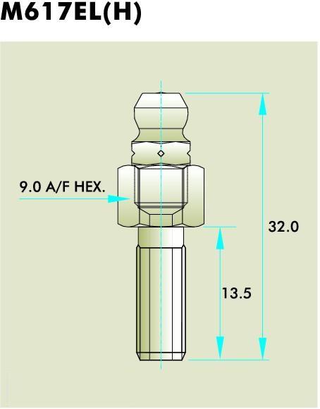 M617EL Grease Fitting