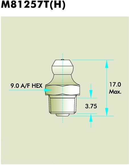 M8125T(H) Grease Fitting