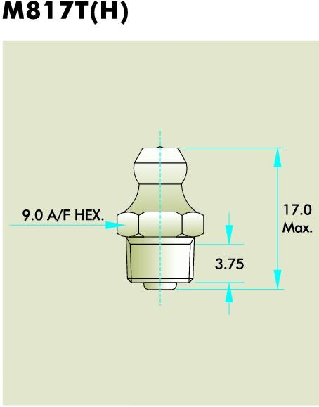 M817T(H) Grease Fitting