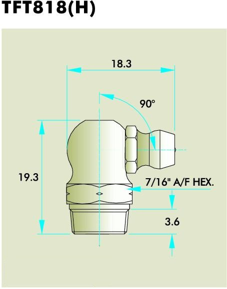 TFT818(H) Grease Fitting
