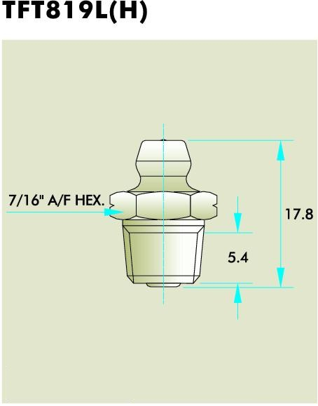 TFT819L(H) Grease Fitting